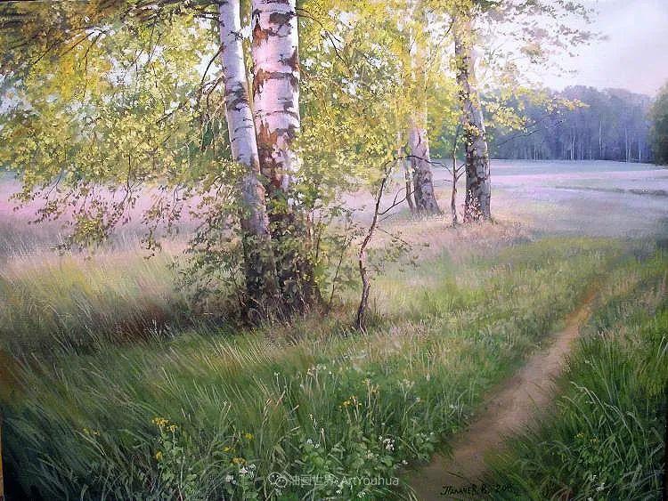 80后俄罗斯画家写实风景,美如画!插图67