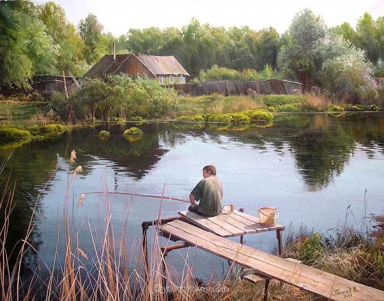 80后俄罗斯画家写实风景,美如画!插图69