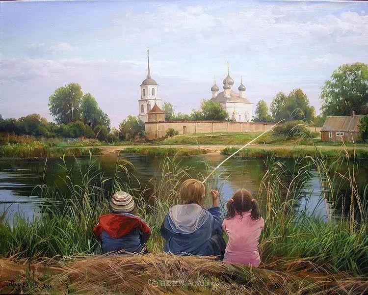 80后俄罗斯画家写实风景,美如画!插图77