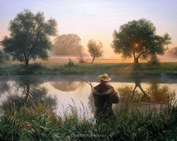 80后俄罗斯画家写实风景,美如画!插图85