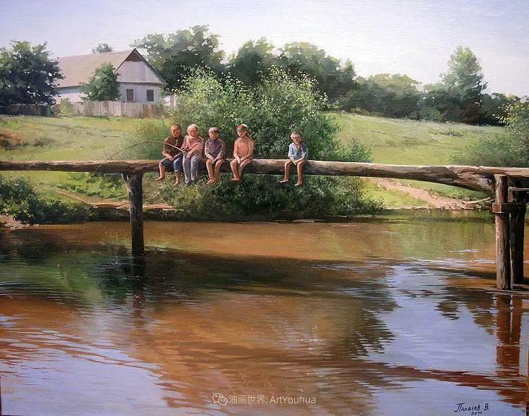 80后俄罗斯画家写实风景,美如画!插图93