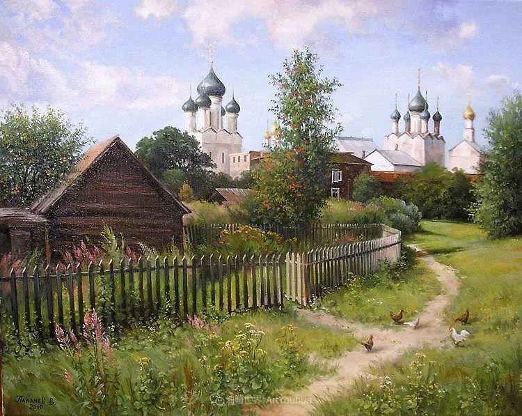 80后俄罗斯画家写实风景,美如画!插图113