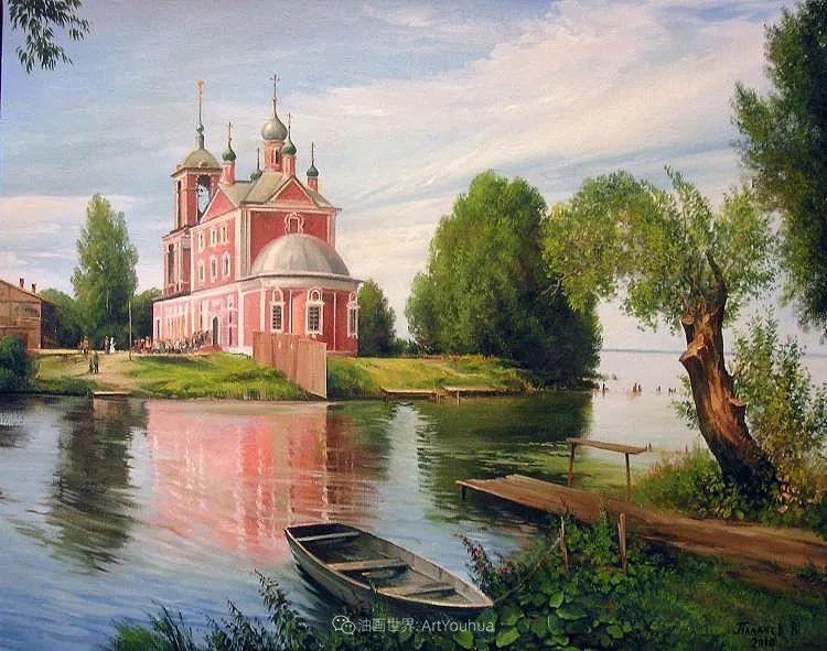 80后俄罗斯画家写实风景,美如画!插图119