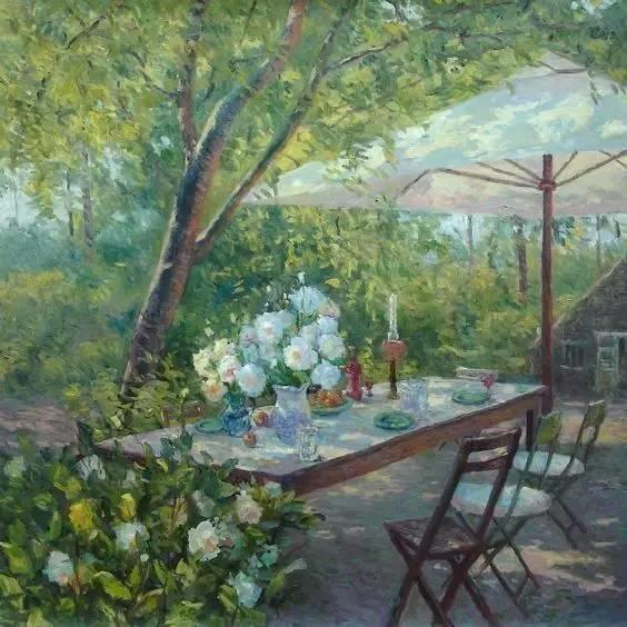 光与色的交响乐,美妙的花园景色插图4