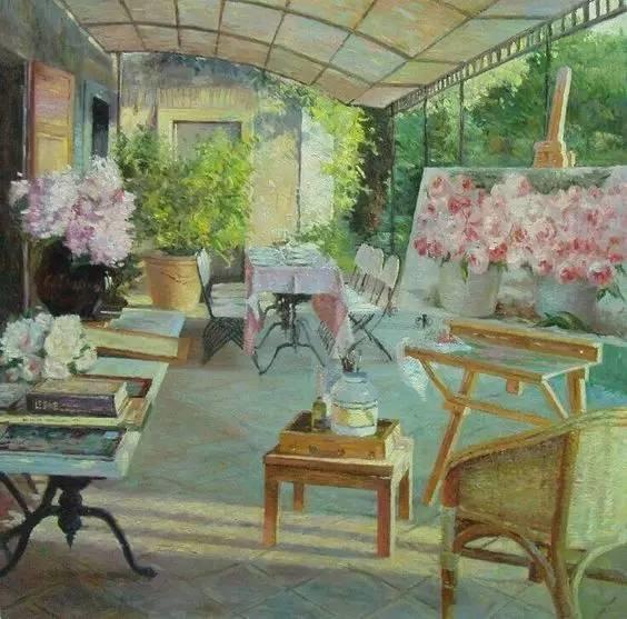 光与色的交响乐,美妙的花园景色插图5