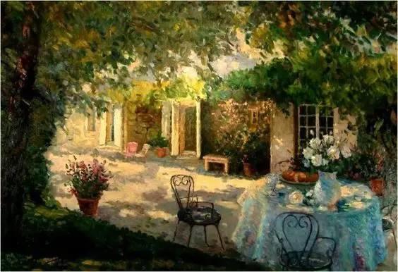 光与色的交响乐,美妙的花园景色插图6