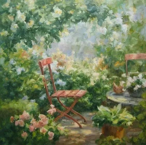 光与色的交响乐,美妙的花园景色插图15