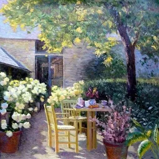光与色的交响乐,美妙的花园景色插图8