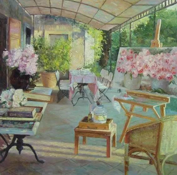 光与色的交响乐,美妙的花园景色插图9