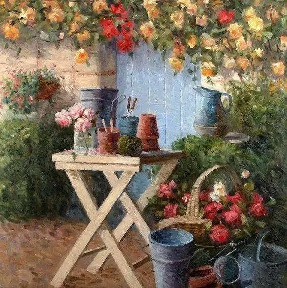 光与色的交响乐,美妙的花园景色插图10