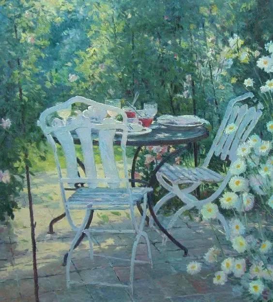 光与色的交响乐,美妙的花园景色插图27