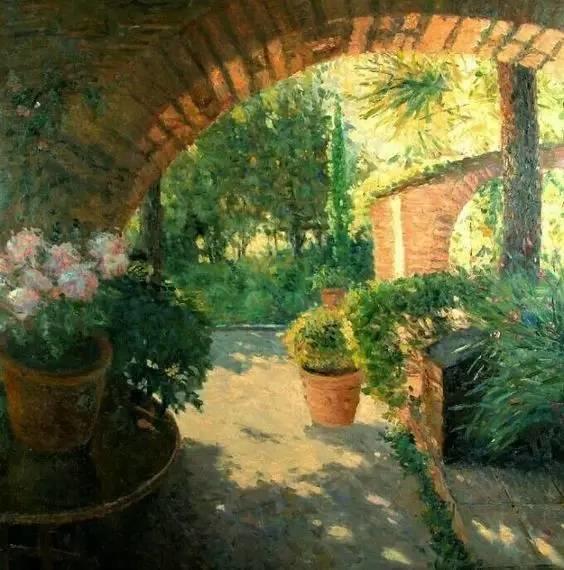 光与色的交响乐,美妙的花园景色插图14
