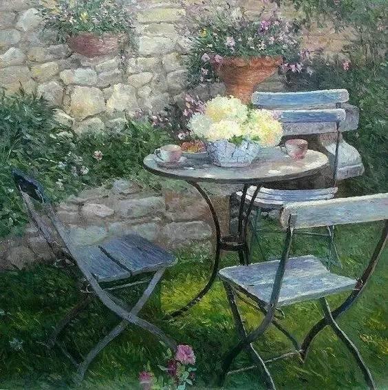 光与色的交响乐,美妙的花园景色插图16