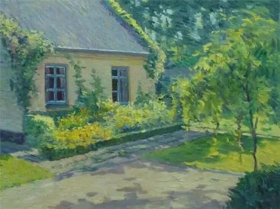 光与色的交响乐,美妙的花园景色插图19