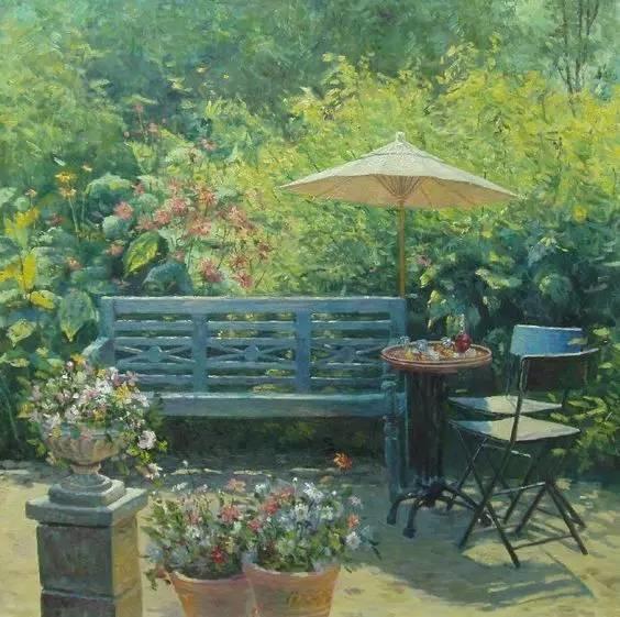 光与色的交响乐,美妙的花园景色插图43