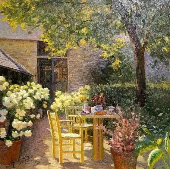 光与色的交响乐,美妙的花园景色插图45