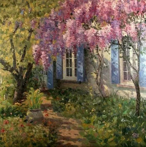 光与色的交响乐,美妙的花园景色插图23