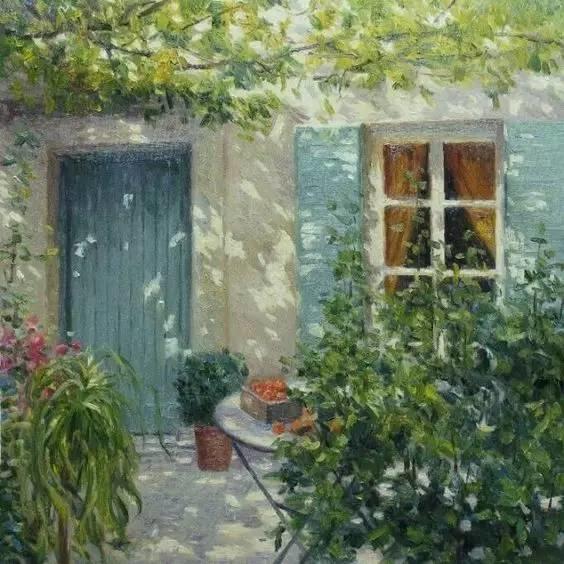 光与色的交响乐,美妙的花园景色插图53