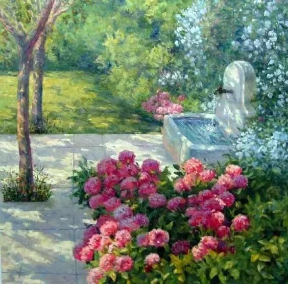 光与色的交响乐,美妙的花园景色插图55