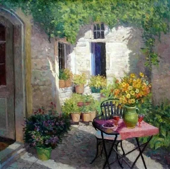 光与色的交响乐,美妙的花园景色插图30