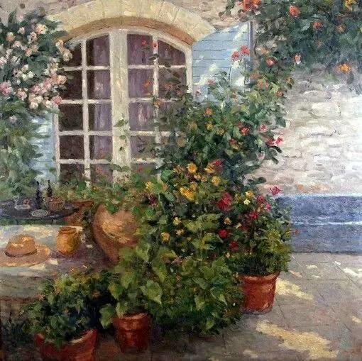 光与色的交响乐,美妙的花园景色插图65