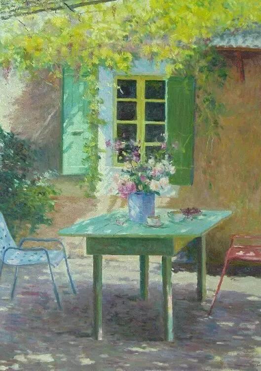 光与色的交响乐,美妙的花园景色插图67