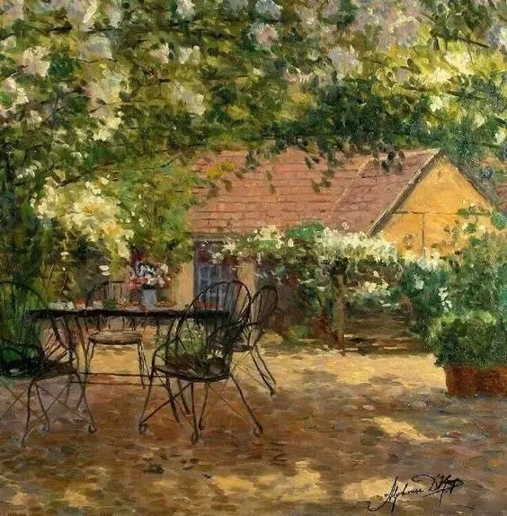 光与色的交响乐,美妙的花园景色插图34