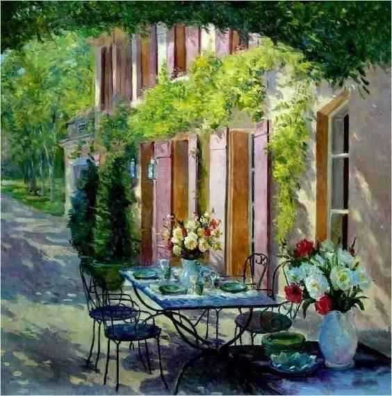 光与色的交响乐,美妙的花园景色插图71