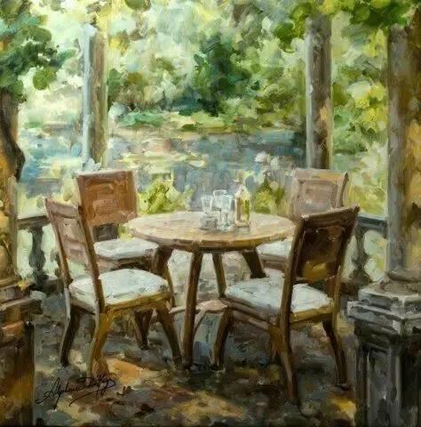 光与色的交响乐,美妙的花园景色插图73