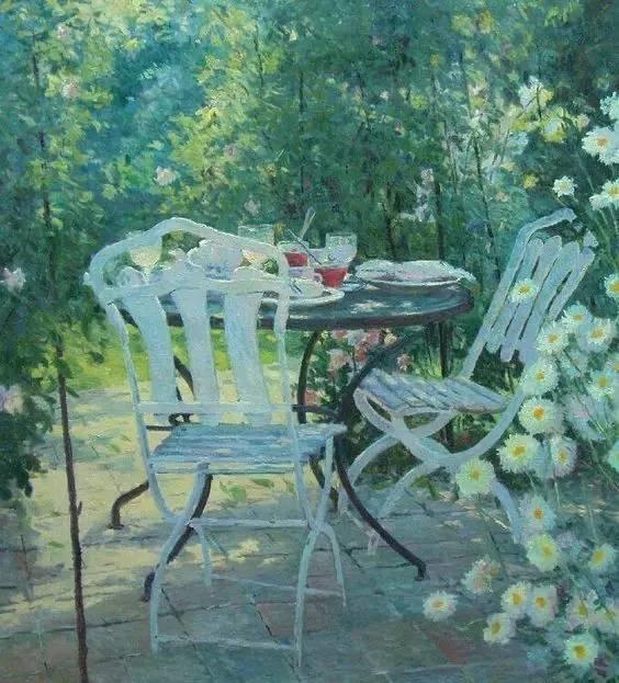 光与色的交响乐,美妙的花园景色插图75