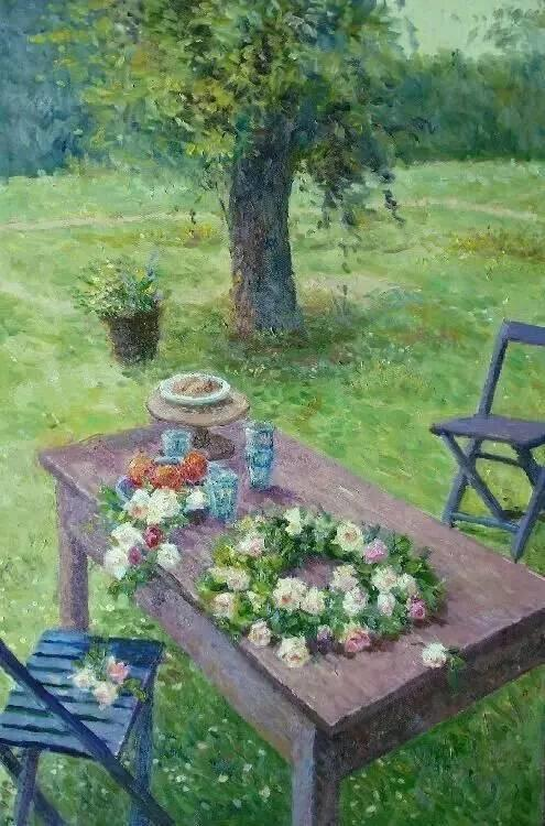 光与色的交响乐,美妙的花园景色插图79