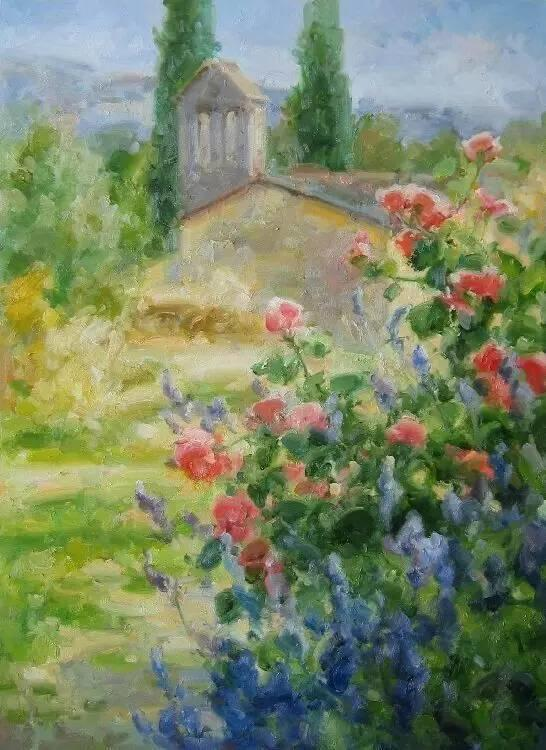 光与色的交响乐,美妙的花园景色插图81