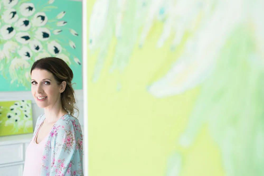 她让油画颜料像奶油,绘出厚重富有立体感的花卉,惊艳!插图11