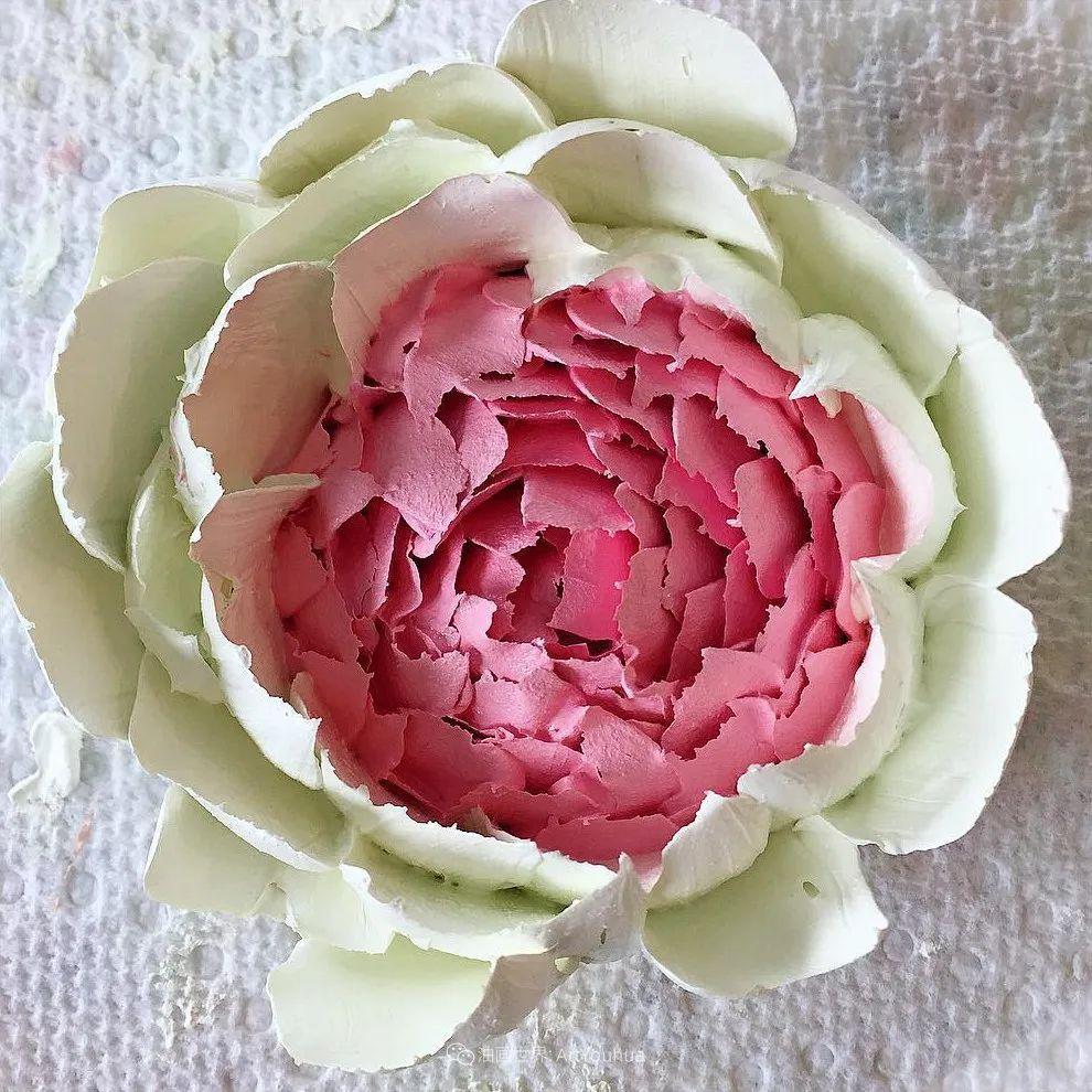她让油画颜料像奶油,绘出厚重富有立体感的花卉,惊艳!插图23