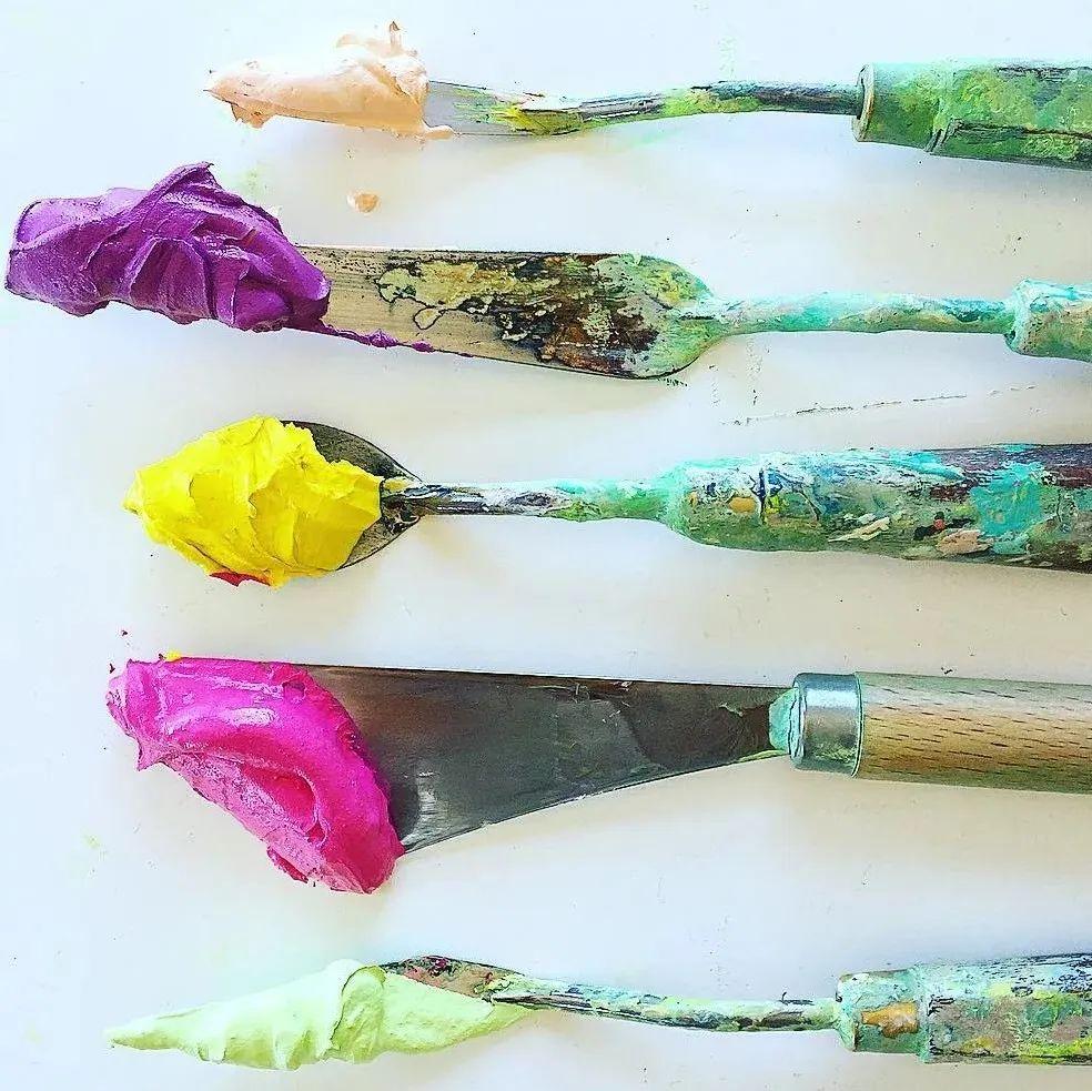 她让油画颜料像奶油,绘出厚重富有立体感的花卉,惊艳!插图35