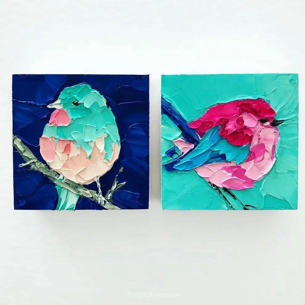 她让油画颜料像奶油,绘出厚重富有立体感的花卉,惊艳!插图157