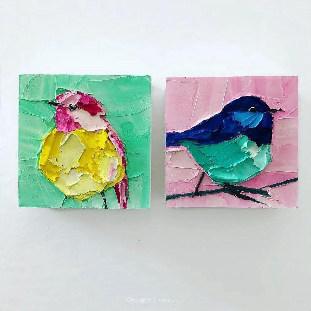 她让油画颜料像奶油,绘出厚重富有立体感的花卉,惊艳!插图159