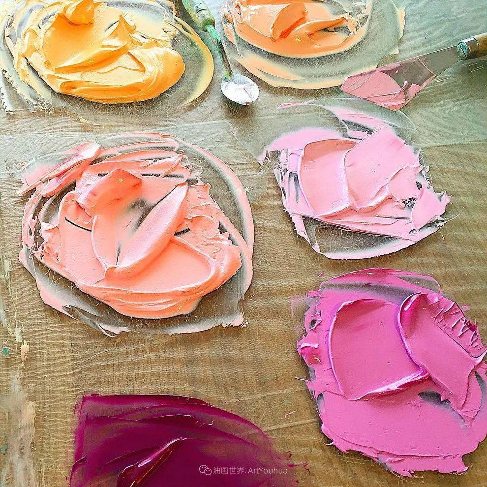 她让油画颜料像奶油,绘出厚重富有立体感的花卉,惊艳!插图175