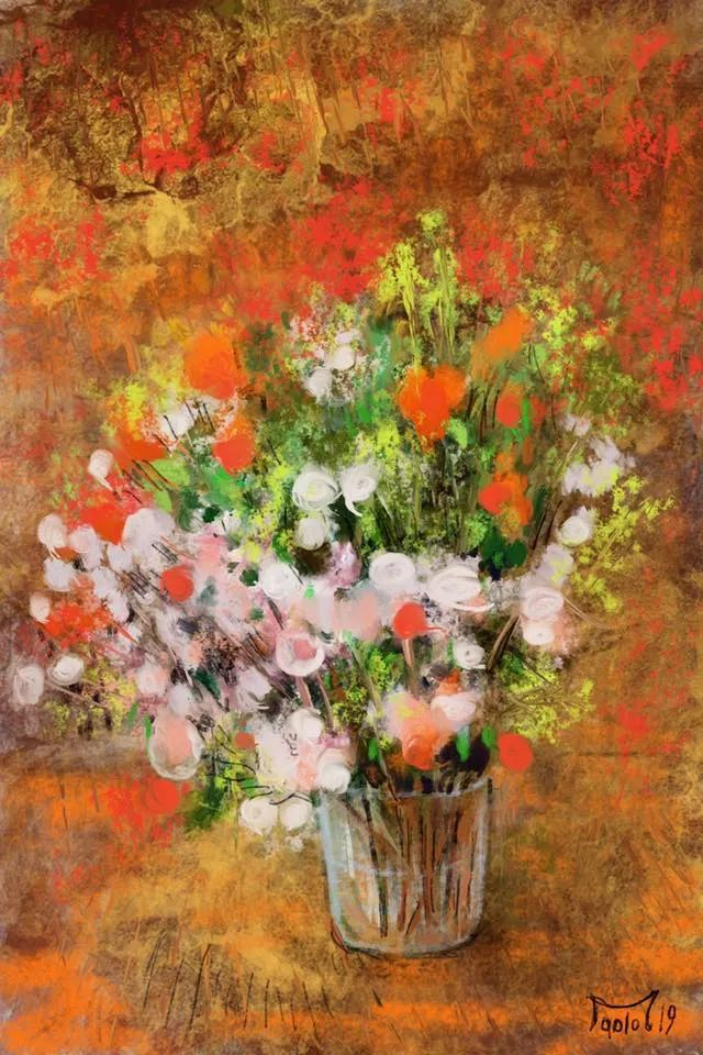 独特的笔触,别样的花卉,美!插图13