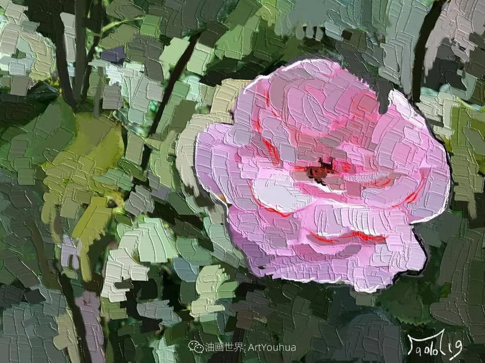 独特的笔触,别样的花卉,美!插图27
