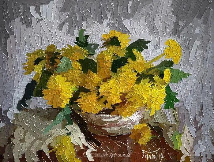 独特的笔触,别样的花卉,美!插图30