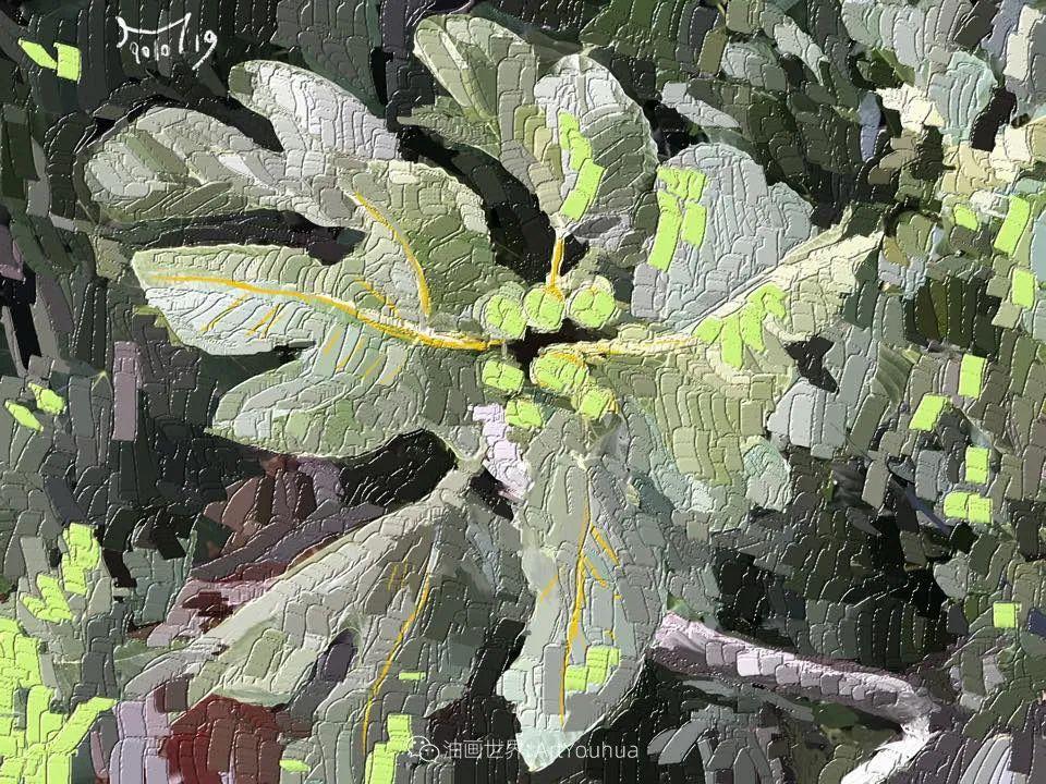 独特的笔触,别样的花卉,美!插图31