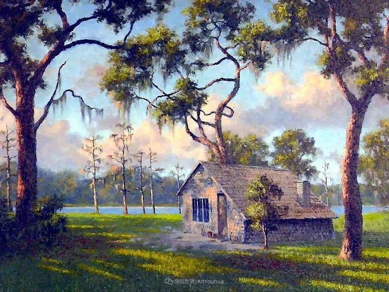 他自学成才,被称为是佛罗里达州画家的院长插图3