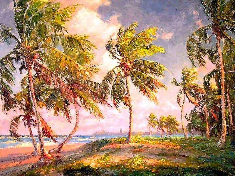 他自学成才,被称为是佛罗里达州画家的院长插图5
