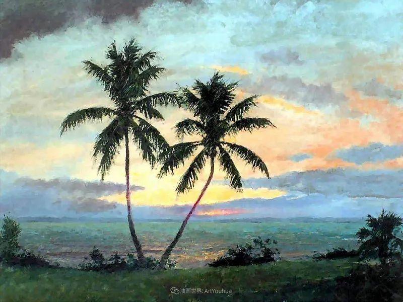 他自学成才,被称为是佛罗里达州画家的院长插图7