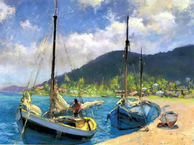 他自学成才,被称为是佛罗里达州画家的院长插图9