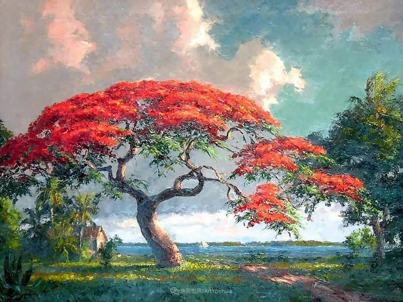 他自学成才,被称为是佛罗里达州画家的院长插图11