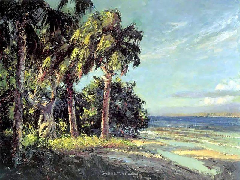 他自学成才,被称为是佛罗里达州画家的院长插图13