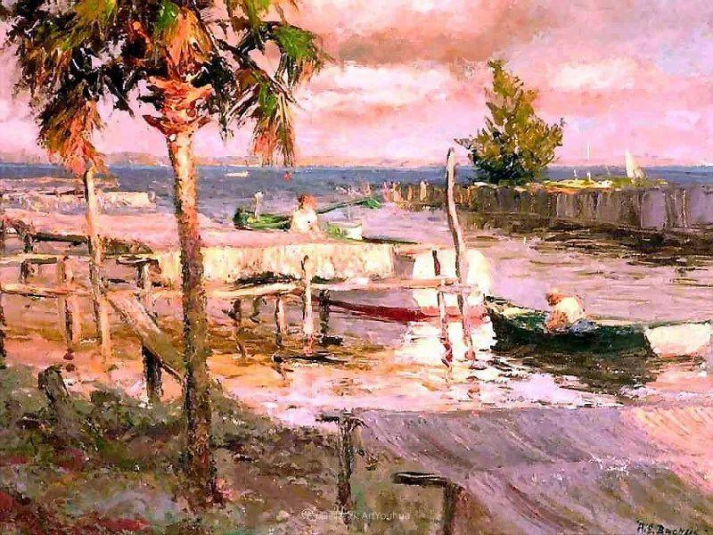 他自学成才,被称为是佛罗里达州画家的院长插图15