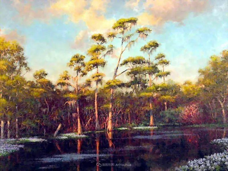 他自学成才,被称为是佛罗里达州画家的院长插图17